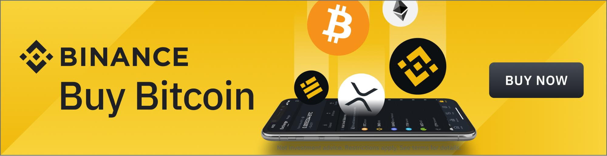 Buy Bitcoin on Binance