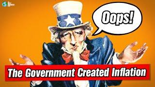 Peter Schiff: The Government Created This Inflation Mess!