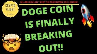 DOGE COIN (DOGE) IS FINALLY BRAEKING OUT RIGHT NOW!! | PRICE PREDICTION | TECHNICAL ANALYSIS$