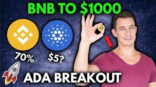 BINANCE SURGES TO $1000 BNB! ADA UPDATE, ALTCOIN GEM TO WATCH NOW