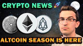 ALTCOIN SEASON IS HERE!! Bullish Coins I'm HODLing