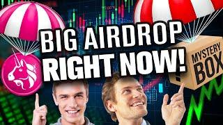 """BIG """"Airdrop"""" Right Now!!! That Could Rival Uniswap!??"""