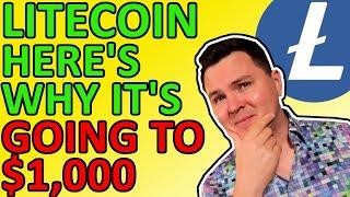 4 REASONS LITECOIN TO HIT $1,000 IN 2021, BULLISH CRYPTO NEWS [Price Prediction]
