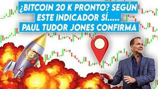 Bitcoin 20 K pronto? Según este indicador sí..... Paul Tudor Jones confirma