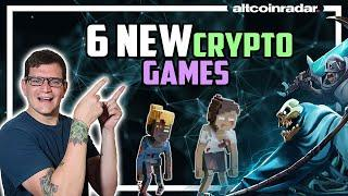 6 Best Crypto Games To Get You Excited About Blockchain Gaming