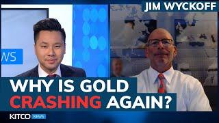 Gold price tumbles $40, will it collapse back to $1,700? Watch these warning signs - Jim Wyckoff