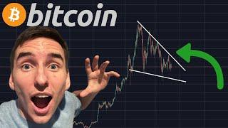 MASSIVE BITCOIN BULL PENNANT FORMING RIGHT NOW!!! [insane target]