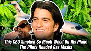 Adam Neumann Hot Boxed WeWork's Private Jet