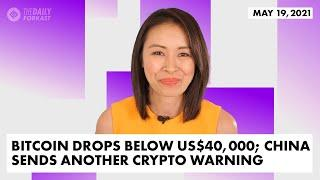 Blood Bath in Asia Crypto Markets; China Sends Another Crypto Warning | The Daily Forkast