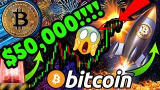 BITCOIN PRICE HITS $50K!!!!!!  $1 MILLION DOLLAR $BTC SUPER CYCLE BEGINS NOW!!!!