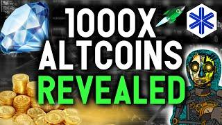 THESE ALTCOINS ARE READY FOR 1000X GAINS!! Life changing opportunities ahead.