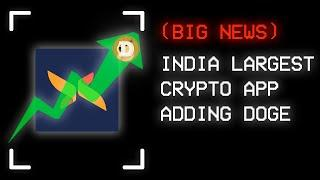 DOGECOIN To Be Added In India (CoinDCX)