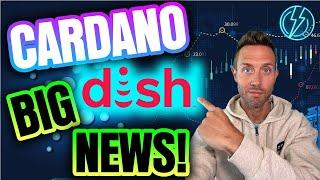 HUGE CARDANO NEWS! DISH | BOOST MOBILE | CHAINLINK