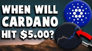 WHEN WILL CARDANO HIT $5.00!? CARDANO PRICE PREDICTION AND TECHNICAL ANALYSIS 2021!