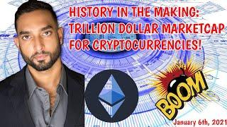 BTC & ETH ROCKET: 1 Trillion Dollar Marketcap!! | Is Crypto In A Bubble? | ShapeShift Ends KYC!