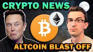 ALTCOIN SURGE COMING!! Elon Musk Making a Crypto