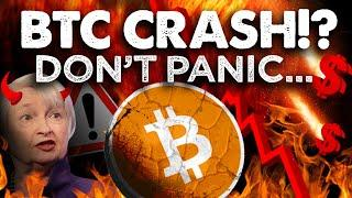 BITCOINs BIG Dump Arrives!! Do Not PANIC! Here's Why!!