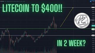 LITECOIN TO $400 - It Is InevitaBULL!! - How To Setup A Trade