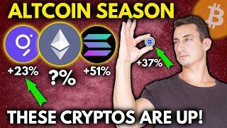 CRYPTO UPDATE: Trillion Dollars to Crypto in April! ETH Buy Zone, Altcoins surge- GRT, GeoDB GEO
