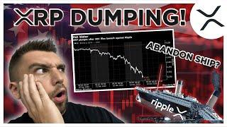XRP is DEAD?! Ripple XRP DUMPING?! Buy the dip? Price Prediction!