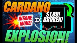 CARDANO EXPLODES AS ADA SURGES TO $1.10! JUST BEGINNING!