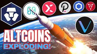ALTCOINS ROCKETING: Harmony, StormX, Crypto.com, Polkadot, Chainlink, Chiliz and GeoDB
