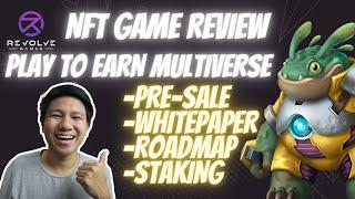 Revolve Games GameFi NFT Game Review | Upcoming Play To Earn | Token Pre-Sale (Tagalog)