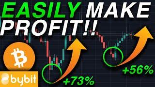 The ULTIMATE Trading Strategy To Make $100 Day Leverage Trading Bitcoin On Bybit & Phemex!!!!!