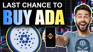 Cardano- LAST Chance Before MOON (How to Buy ADA in 2021)