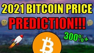 My 2021 Bitcoin Price Prediction! I'm HIGHLY Confident This Will Happen… Cryptocurrency News