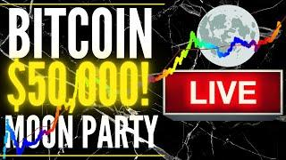 BITCOIN LIVE   BITCOIN WATCH PARTY | Price Prediction Technical Analysis LIVE SHOW