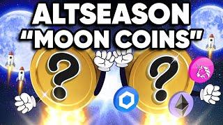 """Top """"MOON"""" ALTCOINs For This Next """"Altseason"""" Cycle!?"""