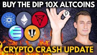 CRYPTO CRASH 2021 UPDATE! 10X ALTCOINS TO BUY | Get Rich with Crypto