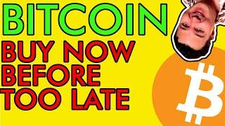 Buy BITCOIN Before It's Too Late!!! $50,000 January Price Target!