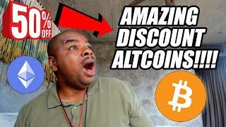 AMAZING DISCOUNT ALTCOINS WITH 100X GAIN POTENTIAL!!!!
