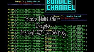 Script Multi Claim Crypto Unlimited, Instant WD Faucetpay Di Termux Android