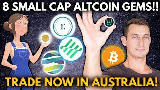 8 NEW ALTCOINS TO BUY AND TRADE IN AUSTRALIA! Get Rich with Trading Crypto | TVK, RAMP, LIT, ALICE