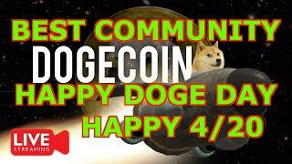 DOGECOIN HAPPY DOGE DAY LETS GET RICH!!!!!