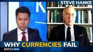 Hyperinflation 'wiped out' these great currencies, is the U.S. dollar next? Steve Hanke