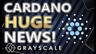 CARDANO HUGE NEWS! | Cardano To Flip ETHEREUM? | Grayscale buys LOADS Of ADA! | Good Investment?