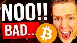BITCOIN NEEDS TO HOLD THIS LEVEL TO SURVIVE!!! [NOT A DRILL] Watch fast before you get REKT...