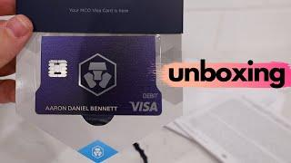 The Crypto.com CRO Card UNBOXING - Is This Royal Indigo Card The Best Crypto Debit Card For 2020?