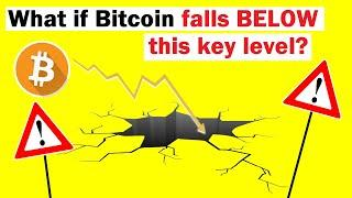 What if Bitcoin Falls BELOW This Key Level?