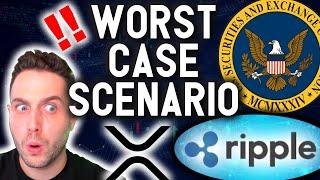 EMERGENCY VIDEO: Worst Case Scenario for XRP and Ripple