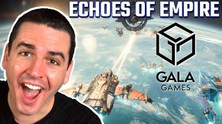NEW Blockchain Game Echoes of Empire Revealed! (Gala Games Play to Earn Crypto Space Strategy Game)
