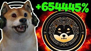 WHEN WILL SHIBA INU COIN BLOW UP AGAIN? - 654445% GROWTH IN 1 YEAR!!