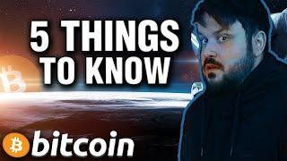 5 Must Know Things About the Bitcoin Bull Market