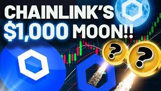 Chainlink Is Due to MOON!! $1000 LINK IS DESTINY!!