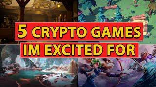 TOP UPCOMING CRYPTO GAMES - Play to Earn Blockchain Gaming