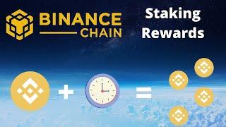How To Delegate Binance Coin BNB - Earn Staking Rewards!!